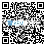 KPM Boise Google Review QR Code